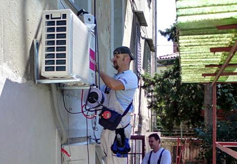 servis popravak klima uređaja