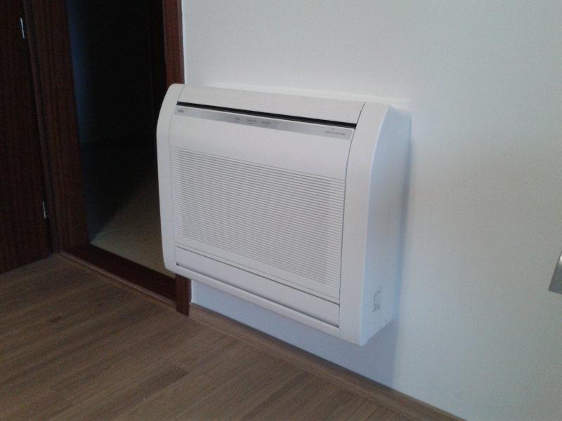 Klima uređaji bez vanjske jedinice - Rijeka | Izgled montiranog klima uređaja