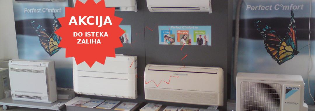 akcija klima uređaja u Rijeci - prodaja