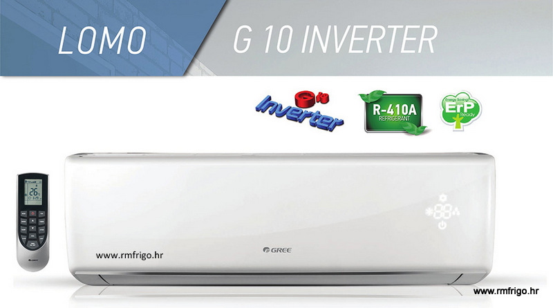 klima uređaj gree lomo regular inverter