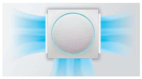 lg artcool stylist-strujanje zraka 3 D
