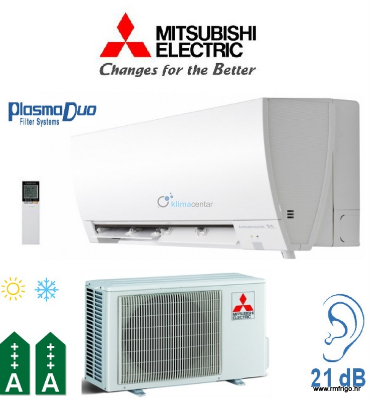 Mitsubishi electric klima ure aj kirigamine fh msz fh35ve for Mitsubishi kirigamine