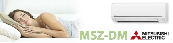 mitsubishi electric klima uređaj msz-dm-25-35-va-standard-dc-inverter-plus
