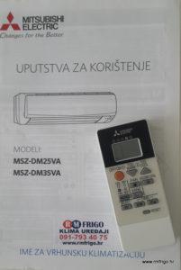 uputstvo-priručnik-mitsubishi-electric-msz-dm-25-35-va-standard-dc-inverter-plus-rijeka