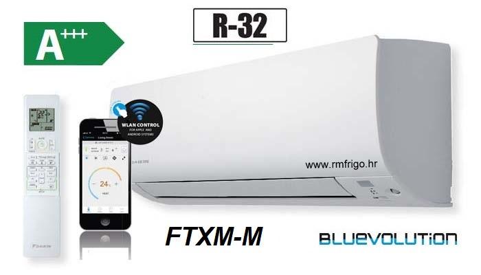 daikin bluevolution ftxm-m r-32 wi-fi profesional