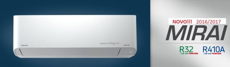klima uređaj toshiba mirai classic ras-bkv-r410a-bkvg-e r32-rijeka-akcija