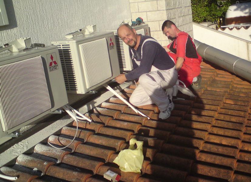 montaža klima uređaja Rijeka izrada instalacija