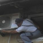 montaža-klima-uređaja-TOSHIBA-RAS-B-13-N3KV2-Opatija-potkrovlje-ugradnja-Rijeka-na-visini-servis-cijena-akcije