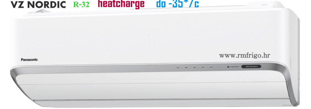 panasonic klima uređaji vz inverter heat sharge