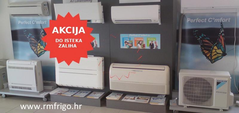 cjenik klima uređaja Rijeka AKCIJA
