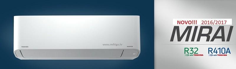 klima uređaj toshiba mirai classic ras-bkv-e bkvg-e-r410a-r32